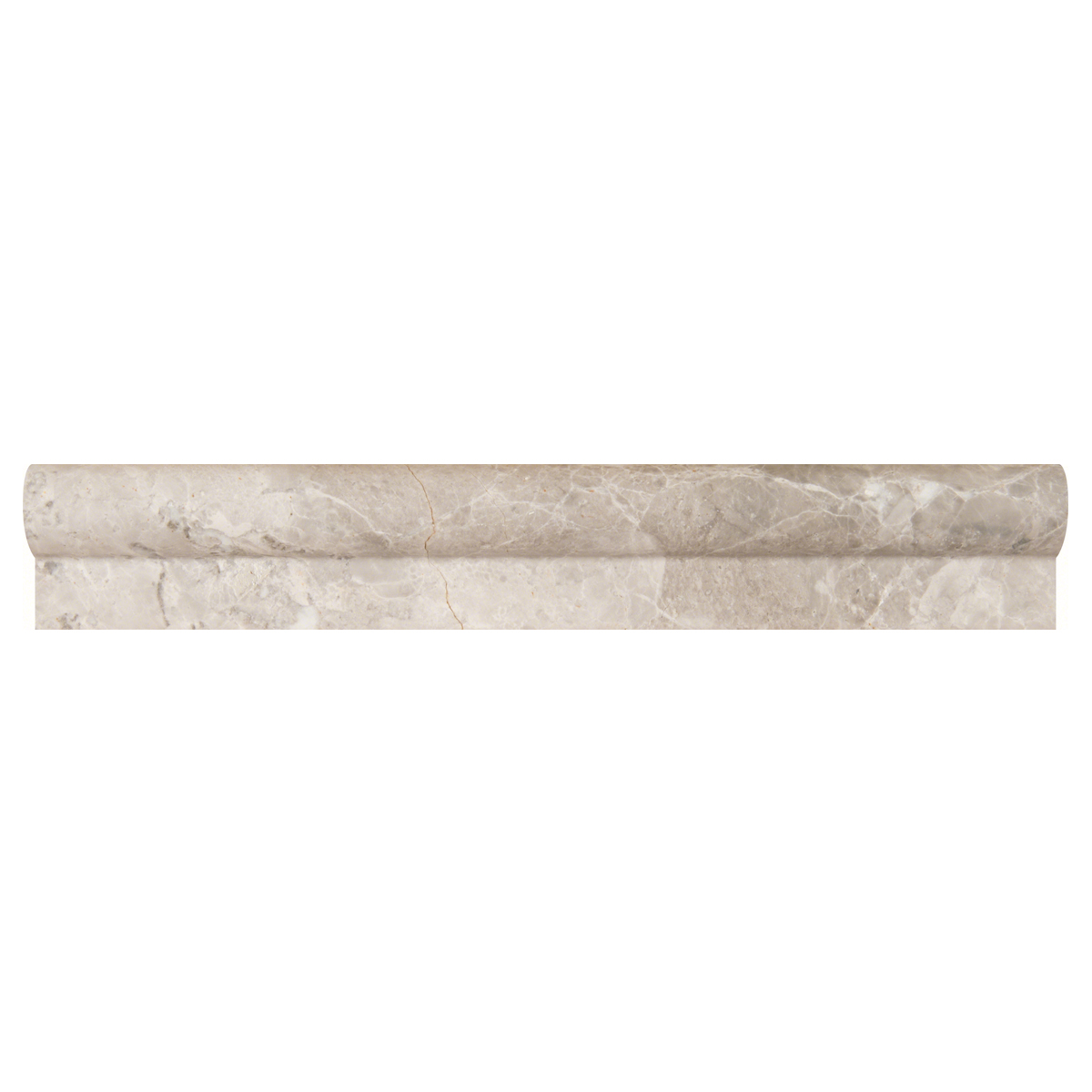 Tundra Gray 1x2x12 Rail Molding Polished