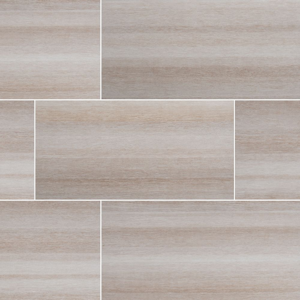 Turin Bianco 12x24 Matte Ceramic Tile