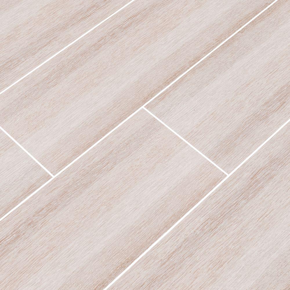 Turin Bianco 6x24 Matte Ceramic Tile