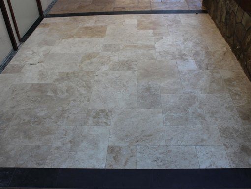 Tuscany Beige 8x12 Honed Filled Travertine Tile