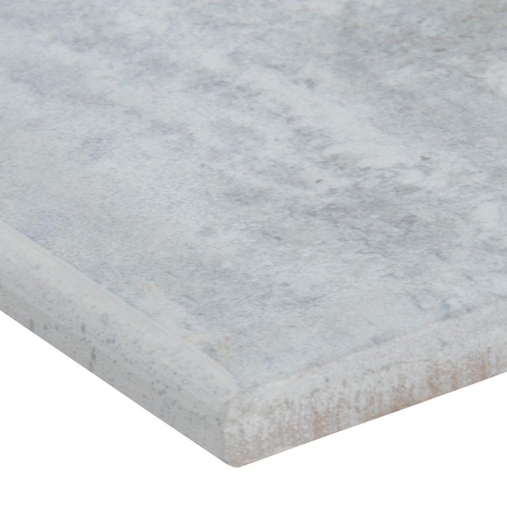 MSI Veneto Gray 3x24 Matte Bullnose