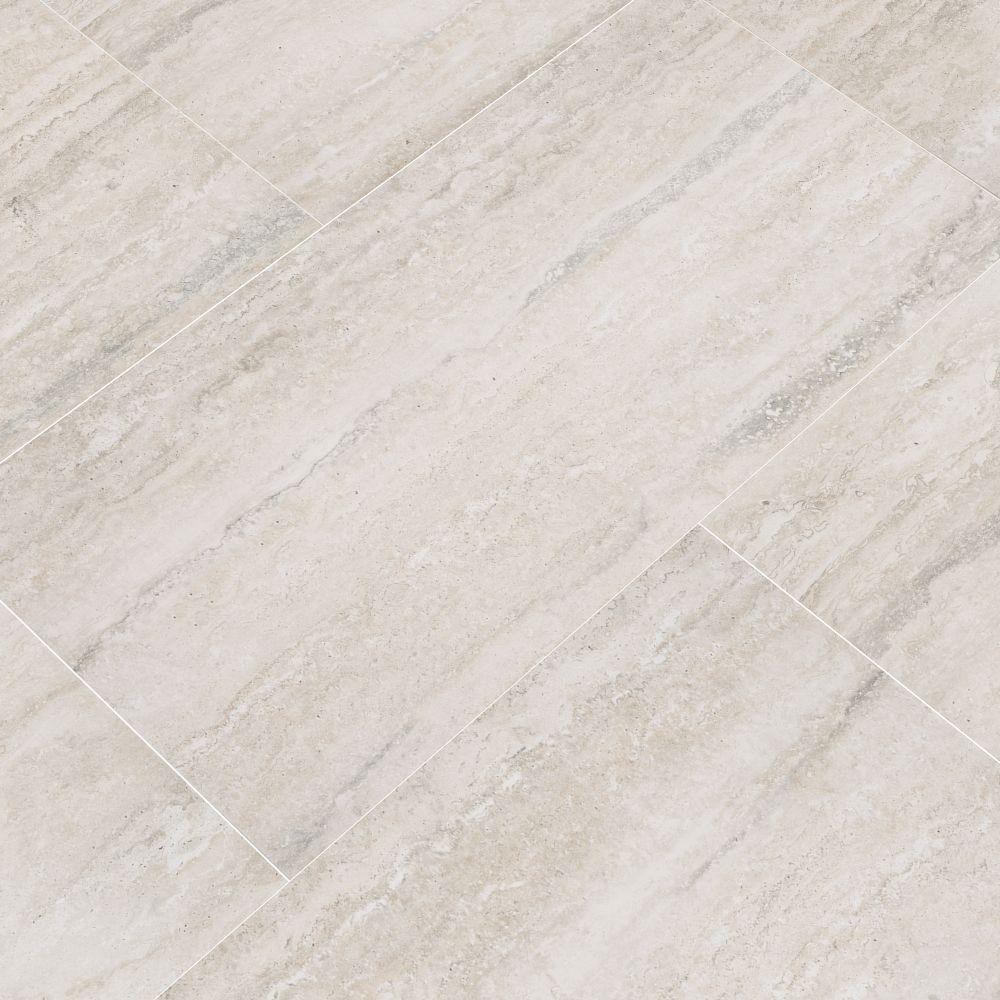 MSI Veneto White 12X24 Matte Porcelain Tile