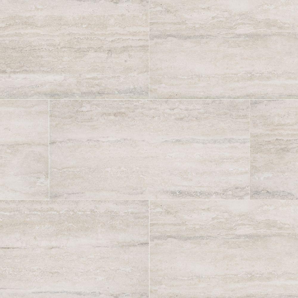 MSI Veneto White 16X32 Matte Porcelain Tile