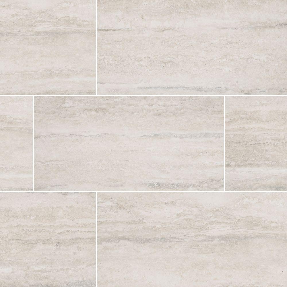 MSI Veneto White 6X24 Matte Porcelain Tile