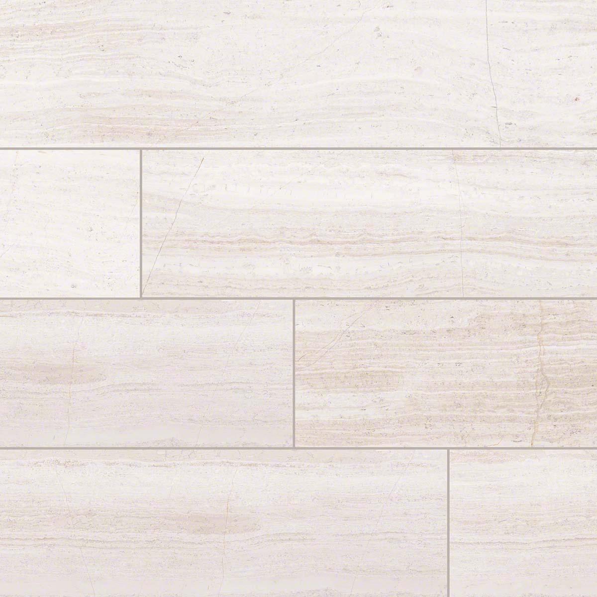White Oak 18x36 Honed Marble TIle
