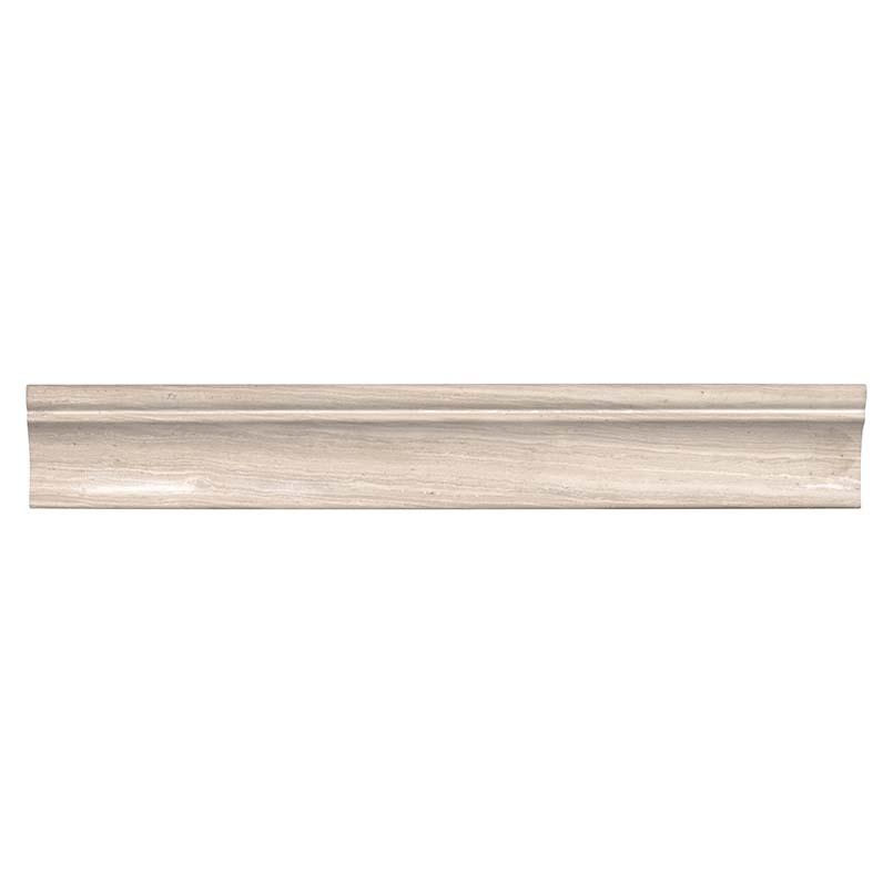 White Oak 1X2X12 Honed Cornice Molding