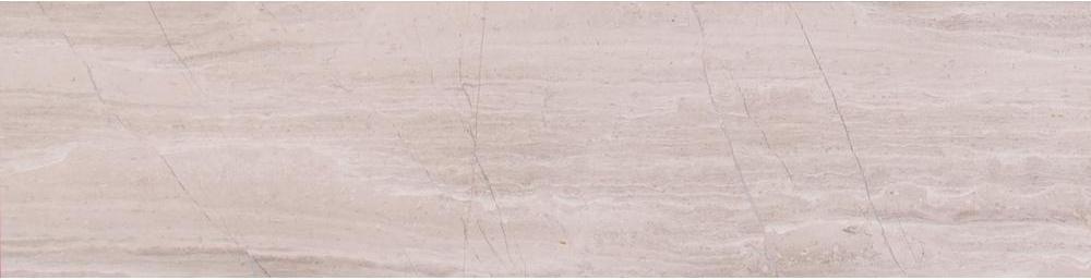 Wooden White 6x24 Honed Marble Tile