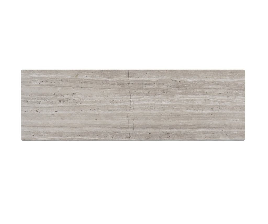 Wooden White Polished 6x24 Marble Tile
