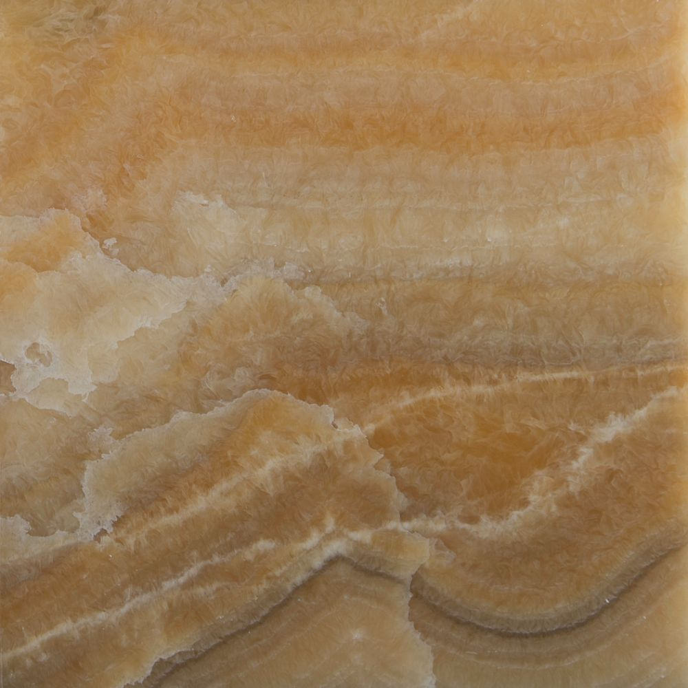 Yellow Onyx 12X12 Polished Floor Tile